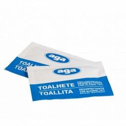 Aga Toalhete de Álcool Desinfectante - 1 unidade - comprar Aga Toalhete de Álcool Desinfectante - 1 unidade online - Farmácia...