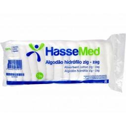 Hassemed Algodão Hidrófilo Zig Zag - 70g - comprar Hassemed Algodão Hidrófilo Zig Zag - 70g online - Farmácia Barreiros - far...