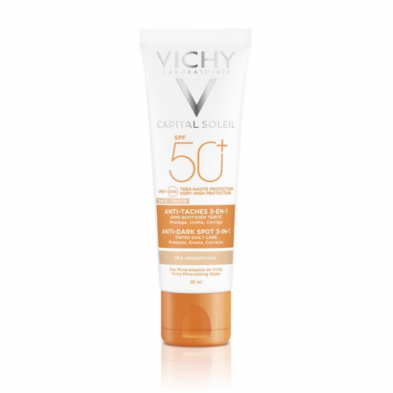 Vichy Capital Soleil Anti-Manchas 3 em 1 SPF 50+ - 50 mL - comprar Vichy Capital Soleil Anti-Manchas 3 em 1 SPF 50+ - 50 mL o...