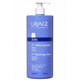 Uriage Bebé 1º Creme Lavante - 1 L - comprar Uriage Bebé 1º Creme Lavante - 1 L online - Farmácia Barreiros - farmácia de ser...