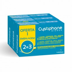 Cystiphane Biorga Suplemento Alimentar Anti-Queda com oferta 3ª embalagem - 3 x 60 comprimidos - comprar Cystiphane Biorga Su...