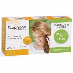 Ecophane Biorga Suplemento Alimentar Anti-Queda com Oferta 3ª Embalagem - 3 x 60 comprimidos - comprar Ecophane Biorga Suplem...