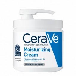 CeraVe Moisturizing Creme Hidratante Diário c/ Pump - 454g - comprar CeraVe Moisturizing Creme Hidratante Diário c/ Pump - 45...