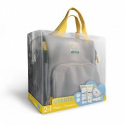 Klorane Bebé Saco de Maternidade Amarelo - 200 mL + 200 mL + 25 toalhetes + 75 g - comprar Klorane Bebé Saco de Maternidade A...