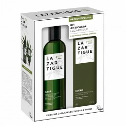 J.F. Lazartigue Kit Anticaspa Clear Champô + Clear Pós-champô - 250 mL + 75 mL - comprar J.F. Lazartigue Kit Anticaspa Clear ...