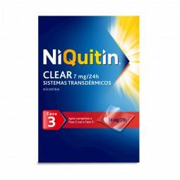 Niquitin Clear Fase 3 (7 mg/24h) - 14 sistemas transdérmicos - comprar Niquitin Clear Fase 3 (7 mg/24h) - 14 sistemas transdé...