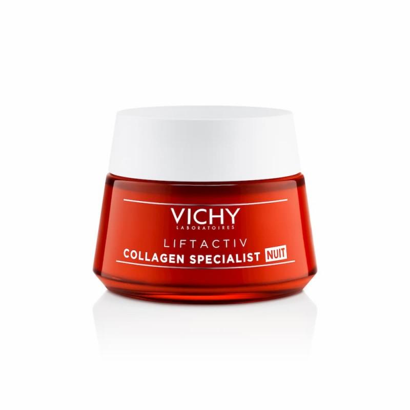 Vichy Liftactiv Collagen Specialist Noite - 50 mL - comprar Vichy Liftactiv Collagen Specialist Noite - 50 mL online - Farmác...