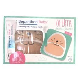 Bepanthen Baby Pomada Muda da Fralda com Oferta Prato da Refeição + Garfo - 2 x 100g - comprar Bepanthen Baby Pomada Muda da ...