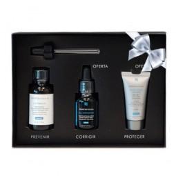 SkinCeuticals Coffret C E Ferulic c/Oferta H.A. Intensifier + Ultra Facial Defense SPF 50 - 30 mL + 15 mL + 15 mL - comprar S...