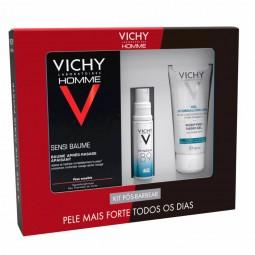 Vichy Homme Coffret Pós Barbear - 75 mL + 10 mL + 50 mL - comprar Vichy Homme Coffret Pós Barbear - 75 mL + 10 mL + 50 mL onl...