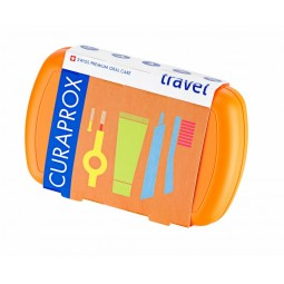 Curaprox Kit de Viagem Be You Explorer Laranja - 1 Kit de Viagem - comprar Curaprox Kit de Viagem Be You Explorer Laranja - 1...