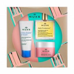 Nuxe Coffret Descoberta - 30 mL + 50 mL + 50 mL - comprar Nuxe Coffret Descoberta - 30 mL + 50 mL + 50 mL online - Farmácia B...