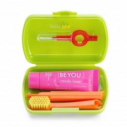 Curaprox Kit de Viagem Be You Candy Lover Verde - 1 Kit de Viagem - comprar Curaprox Kit de Viagem Be You Candy Lover Verde -...