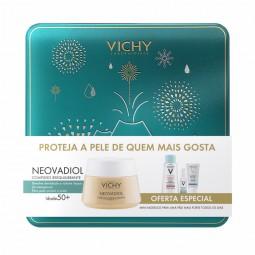 Vichy Coffret Neovadiol Pele Normal a Mista - 50 mL + 100 mL + 10 mL + 50 mL - comprar Vichy Coffret Neovadiol Pele Normal a ...
