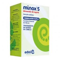 Minox 5 - 50 mg/mL - 2 x 100 mL - comprar Minox 5 - 50 mg/mL - 2 x 100 mL online - Farmácia Barreiros - farmácia de serviço