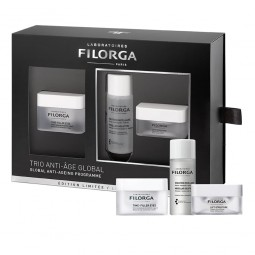 Filorga Coffret Programa Global Antienvelhecimento - 15 mL + 50 mL + 15 mL - comprar Filorga Coffret Programa Global Antienve...