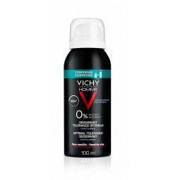 Vichy Homme Desodorizante Spray Hipoalergénico 48h Tolerância Ótima - 100 mL - comprar Vichy Homme Desodorizante Spray Hipoal...