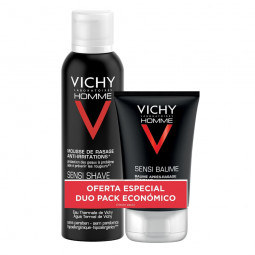 Vichy Homme Kit de Barbear - 200 mL + 75 mL - comprar Vichy Homme Kit de Barbear - 200 mL + 75 mL online - Farmácia Barreiros...