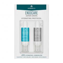 Endocare Expert Drops Hydrating Protocol Sérum Hidratante + Sérum Retexturizante - 10 mL + 10 mL - comprar Endocare Expert Dr...