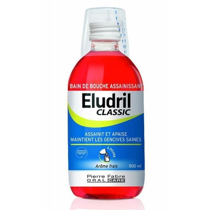 Eludril Classic Colutório - 500 mL - comprar Eludril Classic Colutório - 500 mL online - Farmácia Barreiros - farmácia de ser...