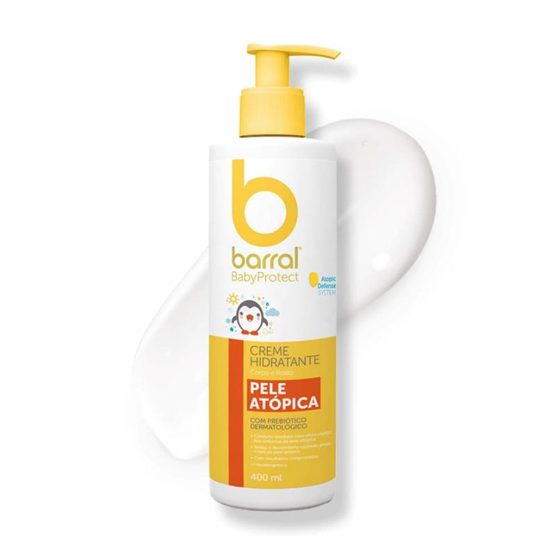 Barral Babyprotect Creme Hidratante Pele Atópica - 400 mL - comprar Barral Babyprotect Creme Hidratante Pele Atópica - 400 mL...