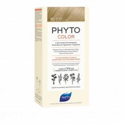 Phyto Phytocolor Coloração Permanente 10 Louro Extra Claro - 1 Kit de Coloração - comprar Phyto Phytocolor Coloração Permanen...