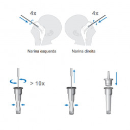 Teste Rápido Antigénio COVID-19 - 1 Kit para autoteste - comprar Teste Rápido Antigénio COVID-19 - 1 Kit para autoteste onlin...