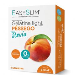 Easyslim Gelatina Light Pêssego Stevia - 2 saquetas - comprar Easyslim Gelatina Light Pêssego Stevia - 2 saquetas online - Fa...