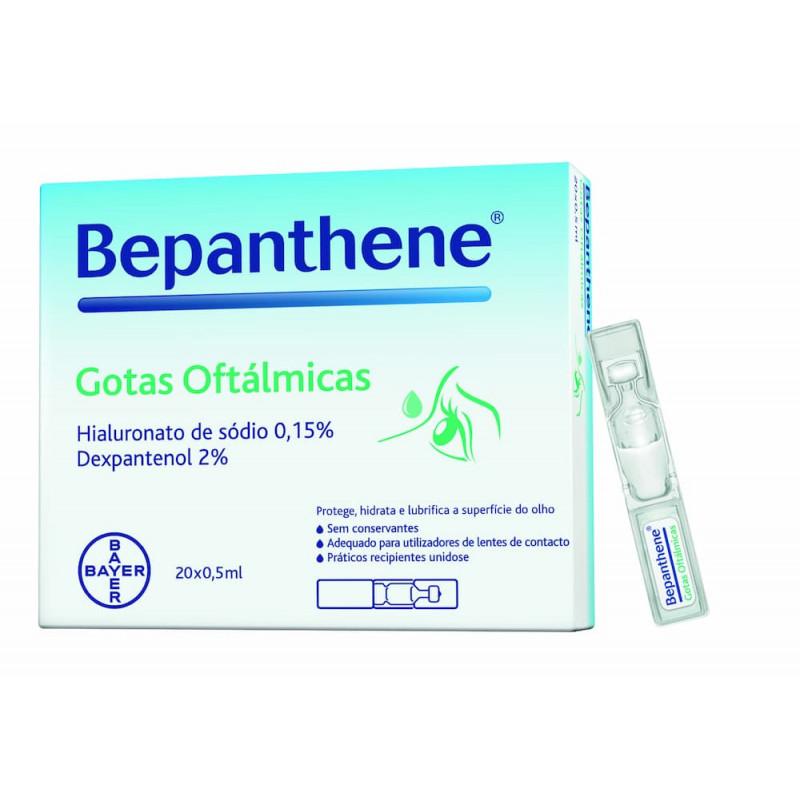 Bepanthene Gotas Oftálmicas - 20 monodoses - comprar Bepanthene Gotas Oftálmicas - 20 monodoses online - Farmácia Barreiros -...