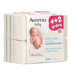 Aveeno Pack Baby Toalhitas - 6 x 72 toalhitas - comprar Aveeno Pack Baby Toalhitas - 6 x 72 toalhitas online - Farmácia Barre...