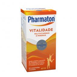 Pharmaton Vitalidade Suplemento Alimentar 20% de desconto - 30 comprimidos - comprar Pharmaton Vitalidade Suplemento Alimenta...