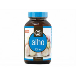 Naturmil Alho 500mg Suplemento Alimentar - 240 cápsulas - comprar Naturmil Alho 500mg Suplemento Alimentar - 240 cápsulas onl...