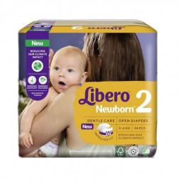 Libero Newborn 2 Fraldas 3-6Kg - 34 unidades - comprar Libero Newborn 2 Fraldas 3-6Kg - 34 unidades online - Farmácia Barreir...