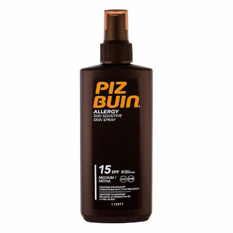 Piz Buin Allergy Spray SPF 15 - 200 mL - comprar Piz Buin Allergy Spray SPF 15 - 200 mL online - Farmácia Barreiros - farmáci...