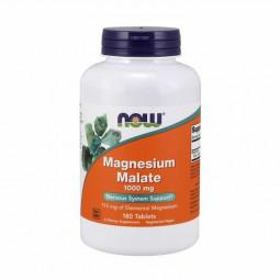 NOW Magnésio Malato 1000mg Suplemento Alimentar - 180 comprimidos - comprar NOW Magnésio Malato 1000mg Suplemento Alimentar -...