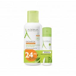 A-Derma Exomega Control Creme Emoliente + Spray Emoliente Anti-prurido - 400 mL + 50 mL - comprar A-Derma Exomega Control Cre...