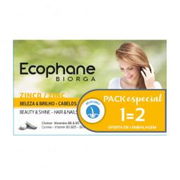 Ecophane Biorga Suplemento Alimentar Anti-Queda - 2 x 60 comprimidos - comprar Ecophane Biorga Suplemento Alimentar Anti-Qued...