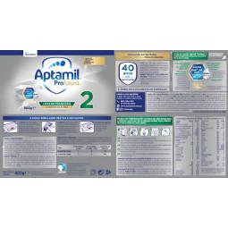 Aptamil 2 Profutura Leite em Pó - 800 g - comprar Aptamil 2 Profutura Leite em Pó - 800 g online - Farmácia Barreiros - farmá...