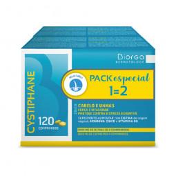 Cystiphane Biorga Suplemento Alimentar Antiqueda - 2 x 120 comprimidos - comprar Cystiphane Biorga Suplemento Alimentar Antiq...