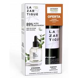 Lazartigue Stronger Sérum Fortificante com Oferta de Fortify Champô Fortificante - 50 mL + 250 mL - comprar Lazartigue Strong...