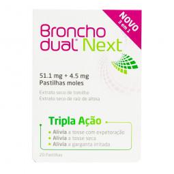 Bronchodual Next Tripla Ação Tosse 4,5/51,1mg - 10 pastilhas - comprar Bronchodual Next Tripla Ação Tosse 4,5/51,1mg - 10 pas...