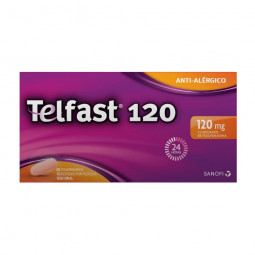 Telfast 120mg - 20 comprimidos - comprar Telfast 120mg - 20 comprimidos online - Farmácia Barreiros - farmácia de serviço