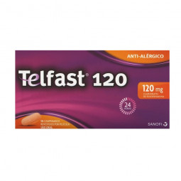 Telfast 120mg - 10 comprimidos - comprar Telfast 120mg - 10 comprimidos online - Farmácia Barreiros - farmácia de serviço