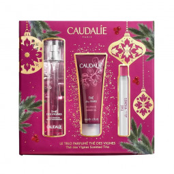 Caudalie Coffret Thé des Vignes Trio Perfumado - 50 mL + 50 mL + 10 mL - comprar Caudalie Coffret Thé des Vignes Trio Perfuma...