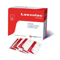 Laevolac Xarope 10g/15ml - 20 saquetas - comprar Laevolac Xarope 10g/15ml - 20 saquetas online - Farmácia Barreiros - farmáci...
