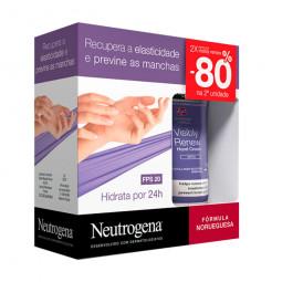 Neutrogena Creme de Mãos Visibly Renew Elasticidade Intensa SPF 20 Preço Especial - 2 x 75 mL - comprar Neutrogena Creme de M...