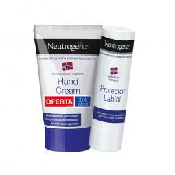 Neutrogena Creme de Mãos Concentrado com Perfume com Oferta Stick Labial - 50 mL + 3 g - comprar Neutrogena Creme de Mãos Con...