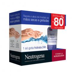 Neutrogena Creme de Mãos Concentrado com Perfume Preço Especial - 2 x 50 mL - comprar Neutrogena Creme de Mãos Concentrado co...