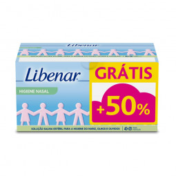 Libenar Soro Fisiológico Estéril Monodoses - 40 x 5 mL + 20 x 5 mL - comprar Libenar Soro Fisiológico Estéril Monodoses - 40 ...
