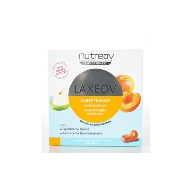 Nutreov Laxeov Cubos Maçã e Alperce - 20 cubos - comprar Nutreov Laxeov Cubos Maçã e Alperce - 20 cubos online - Farmácia Bar...
